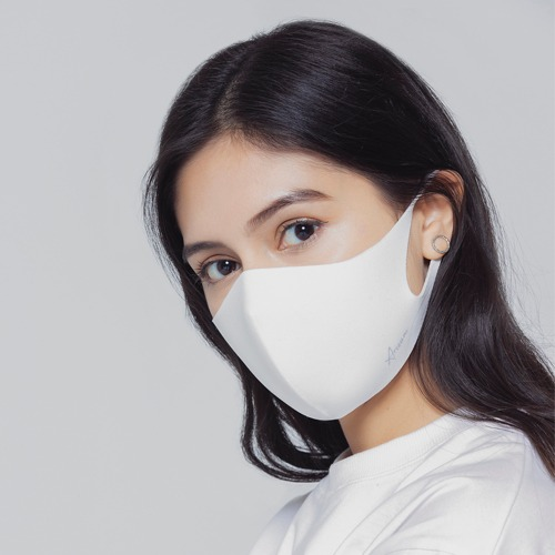 [ARISUM] Basic Mask - White