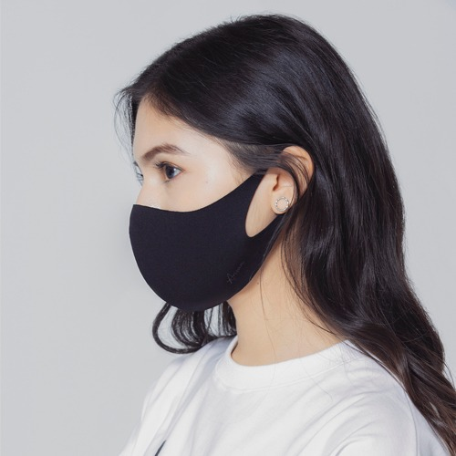 [ARISUM] Basic Mask - Black